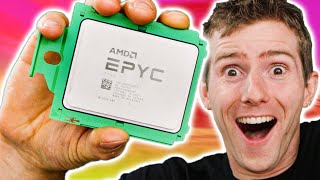 64 Core EPYC CPU - HOLY $H!T