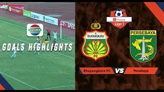 Bhayangkara Fc (0) vs (2) Persebaya - Goals Highlights | Shopee Liga 1