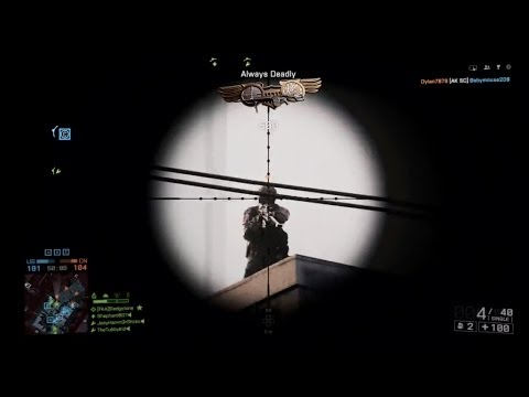 BF4 Unlocked SR338 Always Deadly Assignment