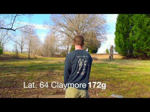 Playing Disc Golf At Winthrop Univ In Rock Hill, SC. Lake Front Layout