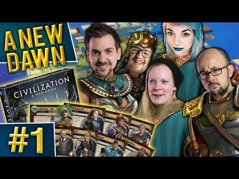 Civilization: A New Dawn #1 - Wrap Around Barbs