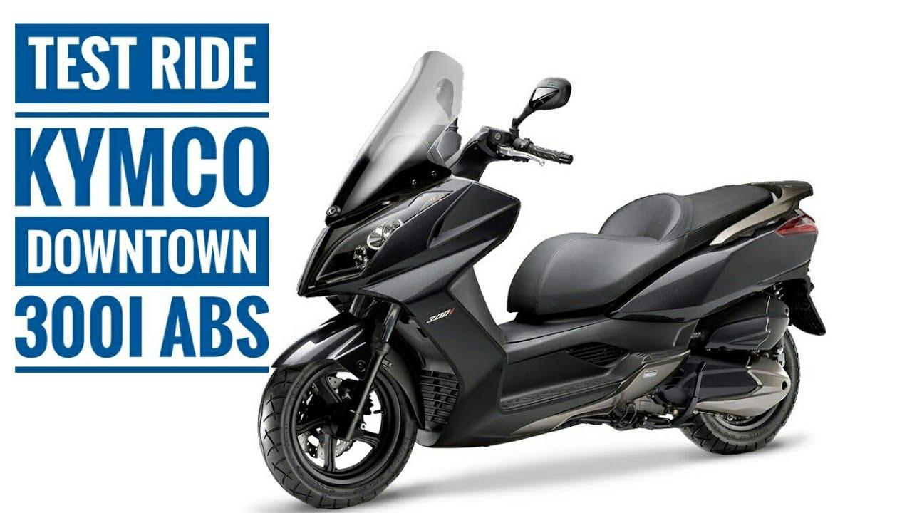 מעולה  Test Ride Kymco Downtown 300i ABS - Uma scooter confortável OI-25