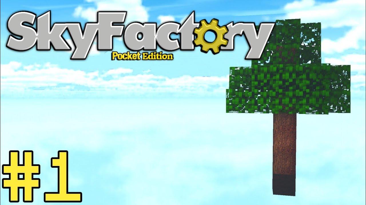 SkyFactory : Bedrock Edition | EP 01 - YouTube