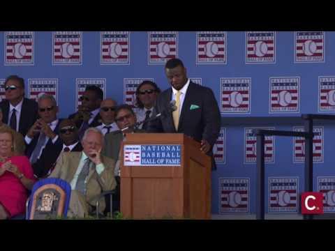 Ken Griffey Jr. National Baseball Hall of Fame induction speech