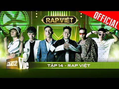 RAP VIỆT - Tập 14  nhu chung kết sớm, Ricky Star & Lăng LD chạm triệu con tim