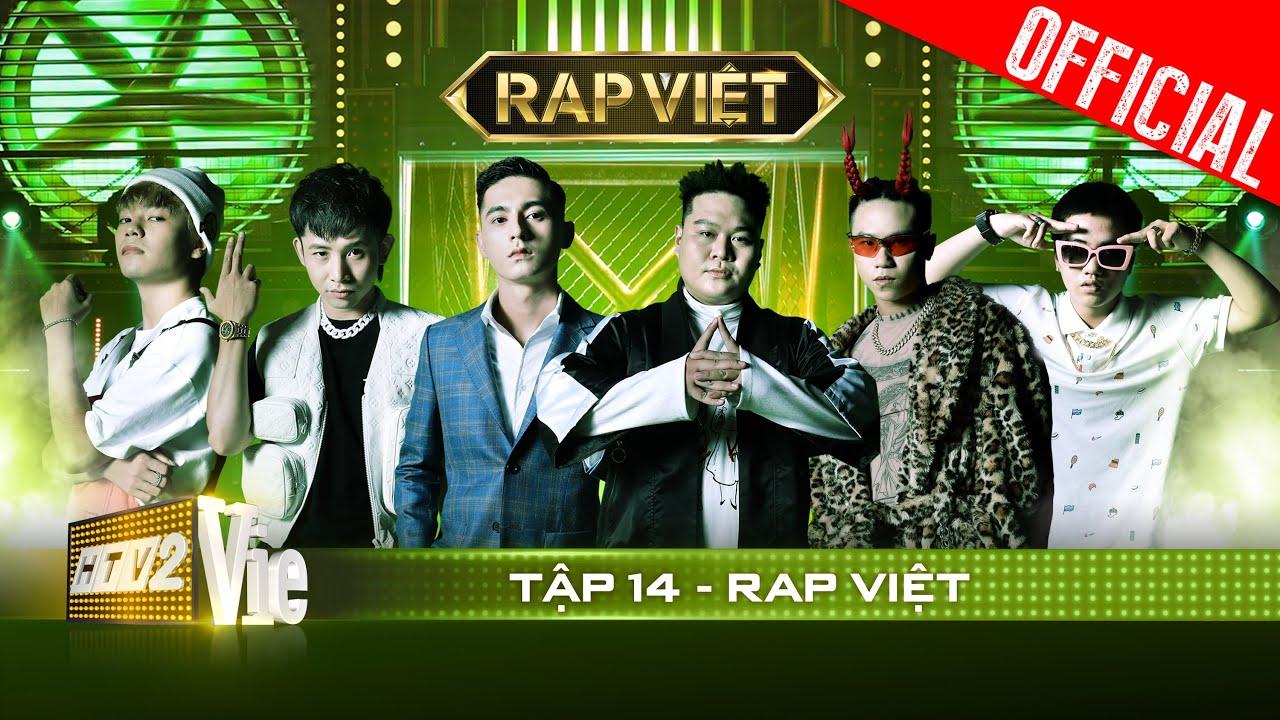 RAP VIỆT Tập 14 | Karik đặt tham vọng lớn lên Ricky Star, Lăng LD khóc nghẹn ở màn trình diễn để đời