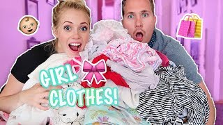 SHOPPING FOR BABY GIRL! 🎀 🍼 👶🏼 Family Baby Haul! 29 Weeks Pregnant | Second Pregnancy