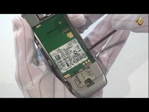 Nokia E52-1 - как разобрать телефон и из чего он состоит