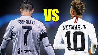 Neymar Jr vs Cristiano Ronaldo ● Skills Battle 2019