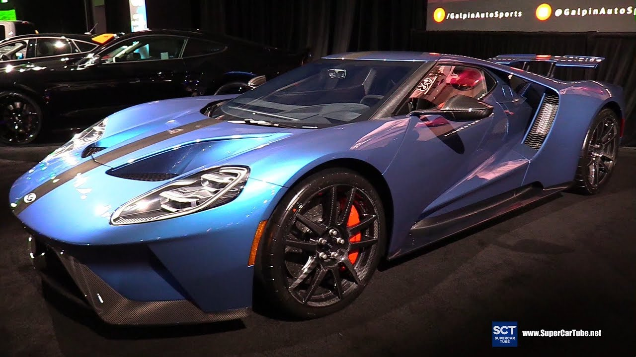 2017 Ford Gt Competition Series By Galpin Exterior Walkaround