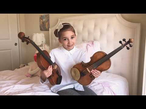 All About My Violin - Karolina Protsenko How to choose price brand