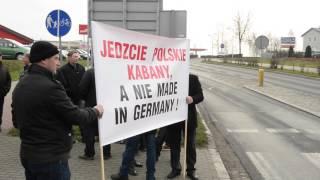 Protest hodowców trzody