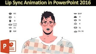Lip Sync Animation in PowerPoint 2016 Tutorial | The Teacher