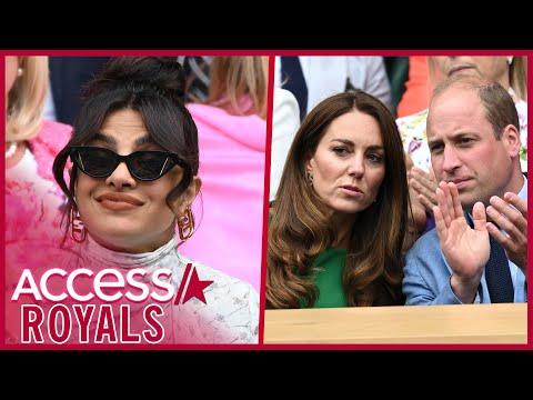 Is Priyanka Chopra Taking Meghan Markle's Side By Seemingly Ignoring Kate & William?