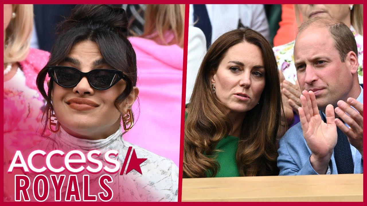 Download Is Priyanka Chopra Taking Meghan Markle's Side By Seemingly Ignoring Kate & William?