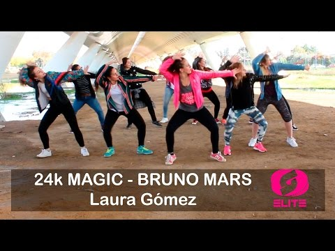 Laura Gómez -24k magic-salsation coreography.