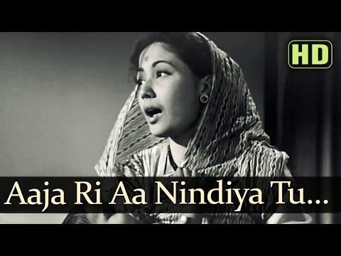 Aa Ri Aaja Nindiya Tu (HD) - Do Bigha Zamin Songs - Balraj Sahni - Meena Kumari - Lata Mangeshkar