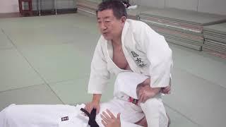 あの木村政彦が考え出したキムラロック・腕絡み(仰向け・亀に対して)-judo - kimura lock - ude garami