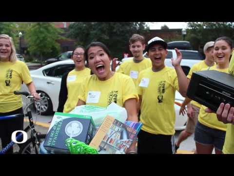 University of Oregon Move-in Day 2016