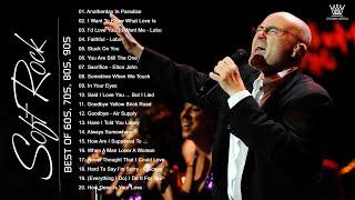 Phil Collins, Elton John, Lionel Richie, Lobo, BeeGees, Rod Stewart   Best Soft Rock Songs EVER