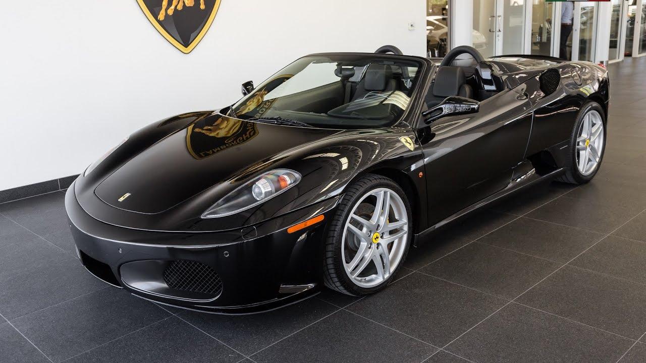 Ferrari f430 black