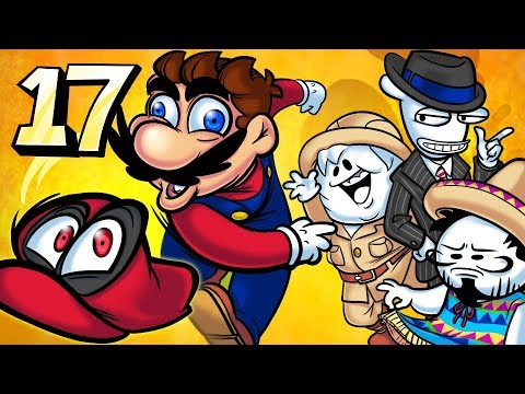 Oney Plays Super Mario Odyssey - EP 17 - Sentient Meat