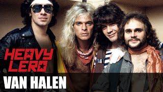 Heavy Lero - VAN HALEN (1974 - 1985) - apresentado por Gastão Moreira e Clemente Nascimento