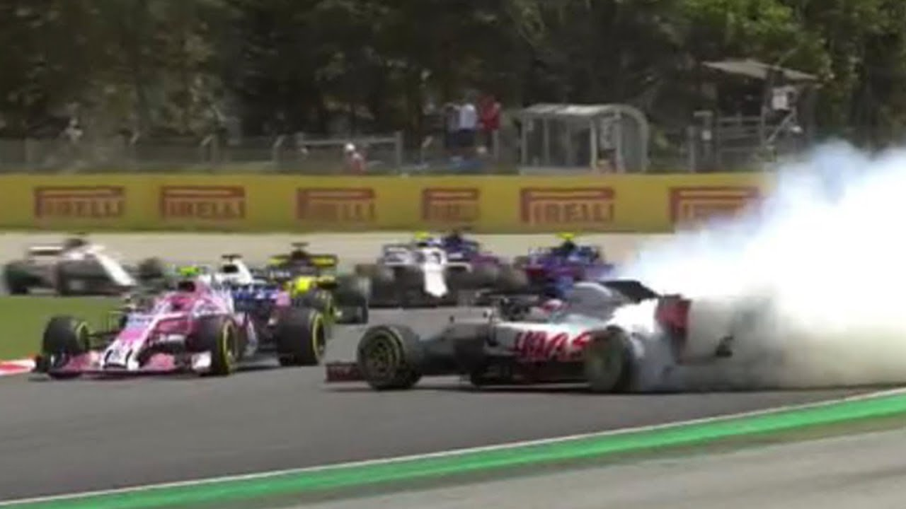 Embarrassing Ferrari F1 Crash onboard view