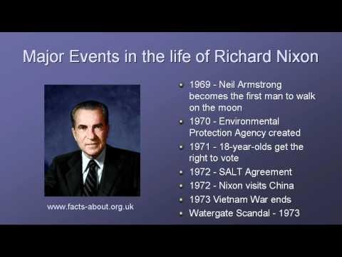 President Richard Nixon Biography