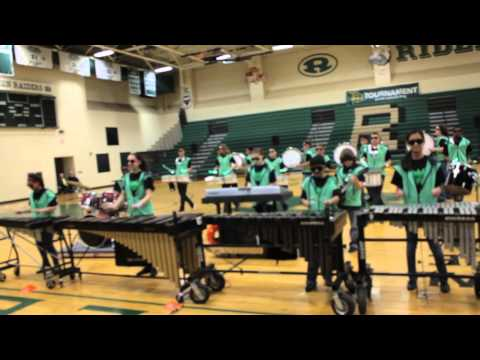 Party Rock - Chichester Middle School Drumline 2015