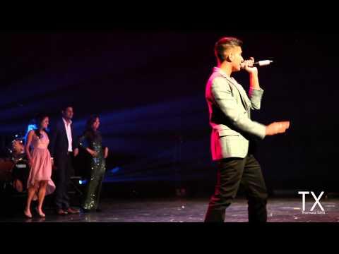 TX @ BLAS Elegance 2013  ||  Arjun performs Kolaveri di, Runaway & Chammak Challo  ||  thamarai.com