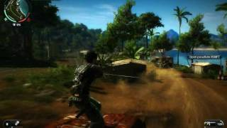 Just Cause 2 PC -  Casino Attack And Getaway Gameplay - Maxed Out -  Part 2 - HD