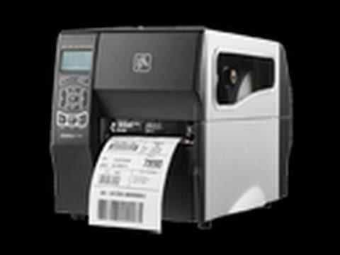 Zebra ZT220-230 Printer Demo