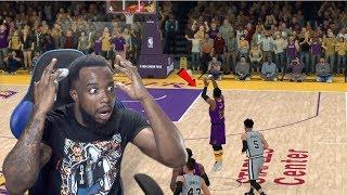 HALFCOURT BUZZER BEATER FOR GAME WINNER! NBA 2K19 MyCareer Ep 94