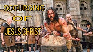 The Passion of The Christ scene punished by romans