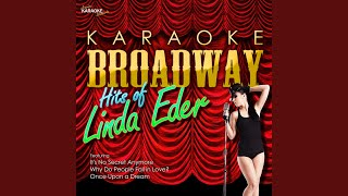 Man of La Mancha (I,Don Quixote) (In the Style of Linda Eder) (Karaoke Version)