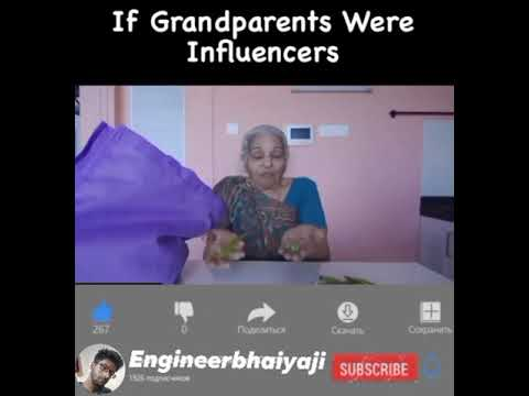 if our grandparents were influencers??
