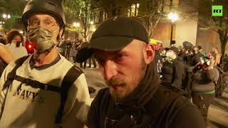 A nation reborn? | Portland protesters on rising tensions