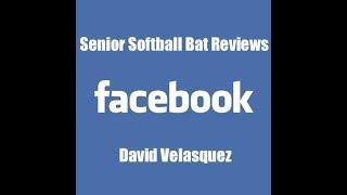 Senior Softball Bat Reviews (Facebook Live)