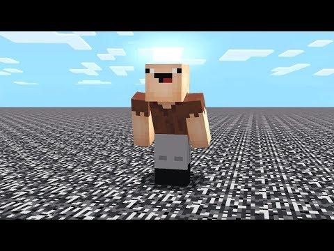 surviving with NO blocks in Minecraft!