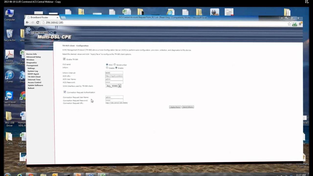 Comtrend ACS Central Webinar