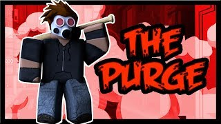 PURGING ALL THE NOOBS IN ROBLOX w/ SweePee [ Roblox The Purge ] iBeMaine (en)