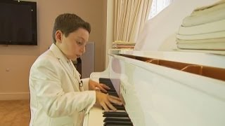 CHILD PRODIGY: Nine-year-old is youngest ever degree-level pianist