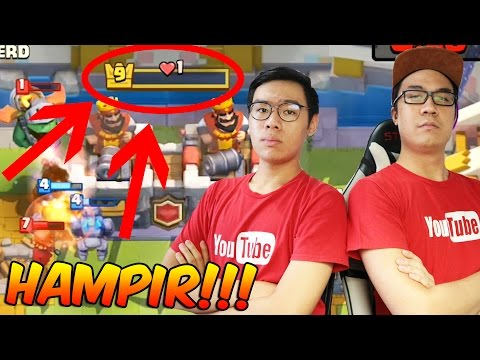 "2v2 ""YOUTUBE BROTHERS"" CLAN BATTLE ! Ft. Christopher Devin - Clash Royale Indonesia Gameplay #25"