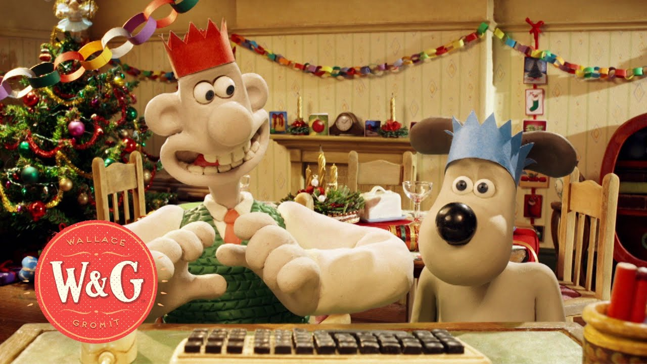 Google Hangout with Wallace and Gromit - YouTube