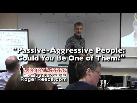 PassiveAggressive Behavior & Conflict