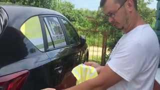 Удаляем царапины на автомобиле  своими руками mazda cx-5(Удаляем царапины на автомобиле своими руками mazda cx-5 В данном видео показана подробная видео- инструкция,..., 2015-07-27T18:03:20.000Z)