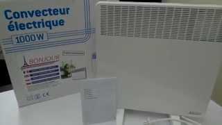 видео Конвектор Atlantic Bonjour 2000. Приходи уступим