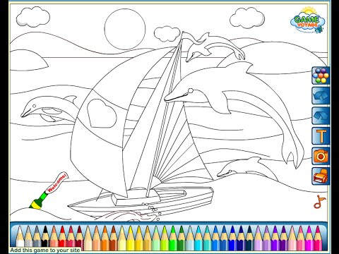 sailboats coloring pages Sailboat Coloring Pages For Kids   Sailboat Coloring Pages   YouTube sailboats coloring pages