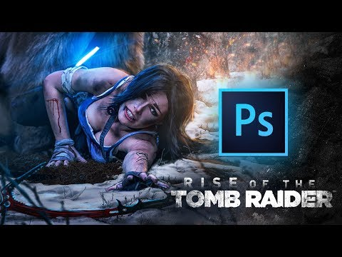 Tomb Raider | Speed-art | Photoshop by Pavel Bond